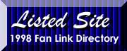 Listed Since 1998 - Fansites.com Link Directory