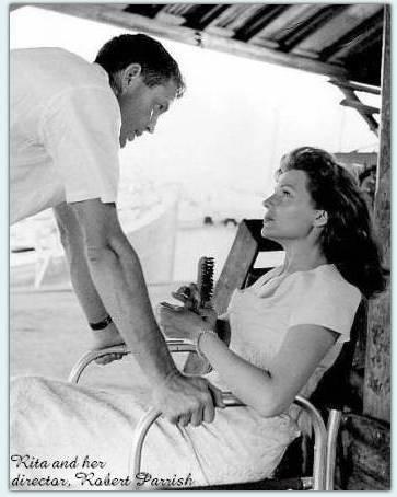 Rita and director Robert Parrish