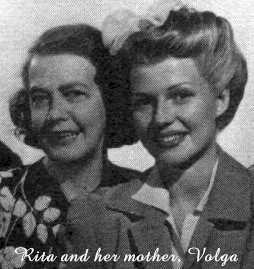 Rita and her mother, Volga Cansino
