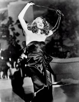 Gilda singing Put the Blame on Mame