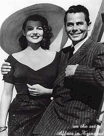 Rita and Glenn Ford