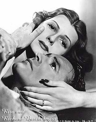 Rita Hayworth and Richard Barthelmess
