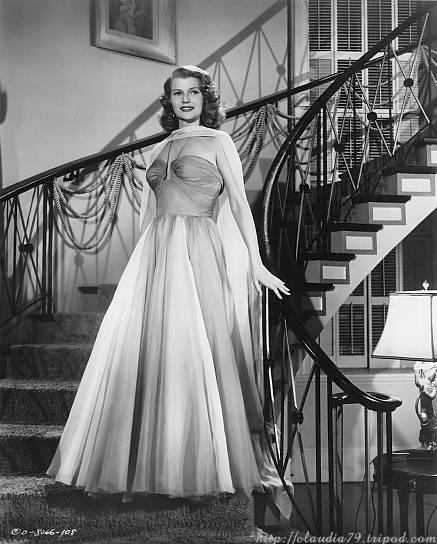 Rita Hayworth as Chris Emery in Affair In Trinidad
