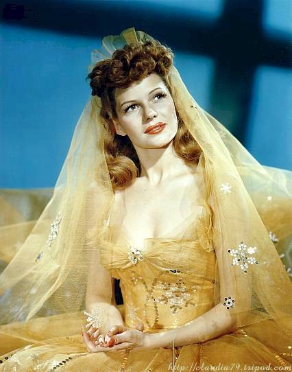Vanity's Golden Wedding Girl