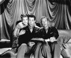 Rita, Larry Parks and Marc Platt in the 'This Can't Be Legal' number