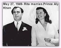 Rita and Prince Aly Khan