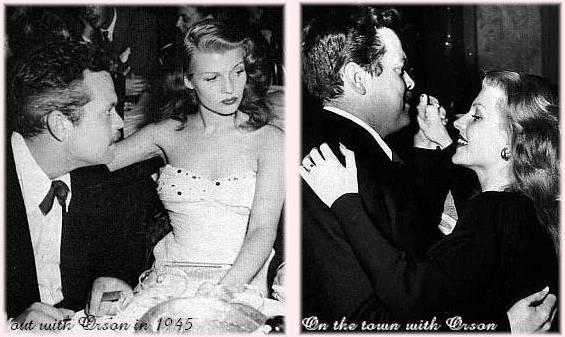 Rita and Orson in 1945