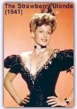 Rita as Virginia Brush in The Strawberry Blonde