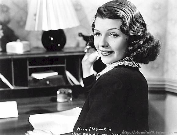 Rita Hayworth in a scene from 'Convicted'