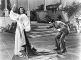 playing matador with Tyrone Power as the bull
