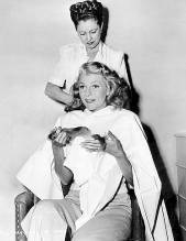 Rita and chief Columbia hair stylist, Helen Hunt