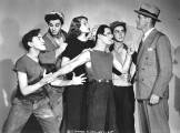 Rita with The Dead End Kids in Juvenile Court (1938)